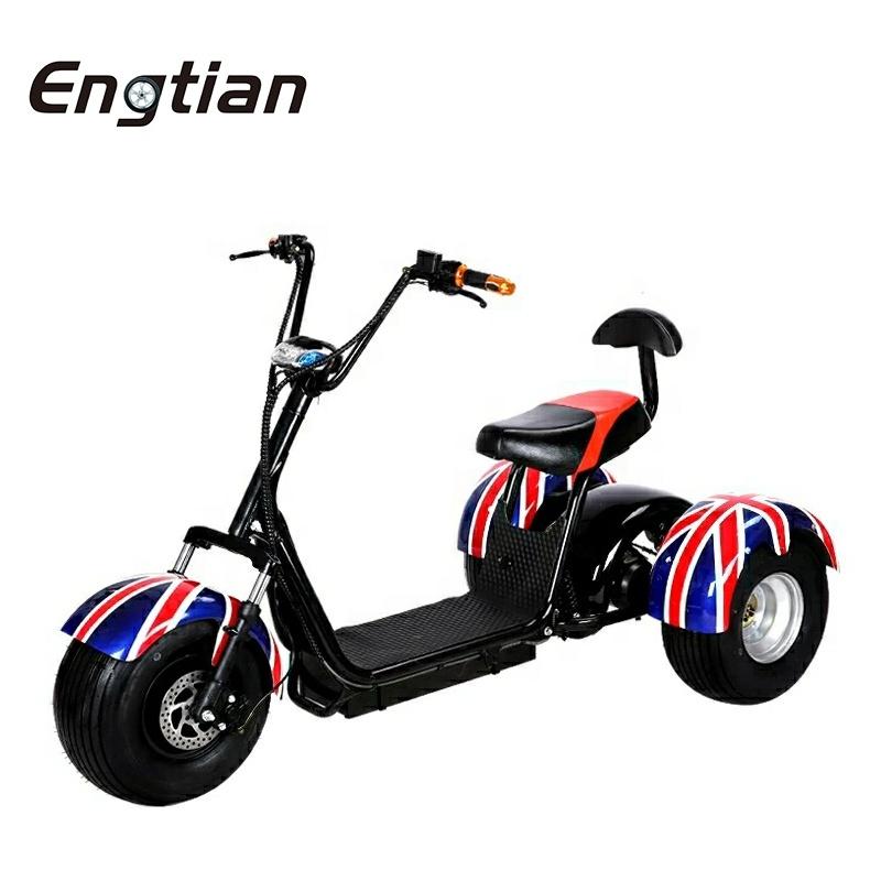 Engtian, новая модель, китайский поставщик, мотоцикл для взрослых, электрический мотоцикл Citycoco