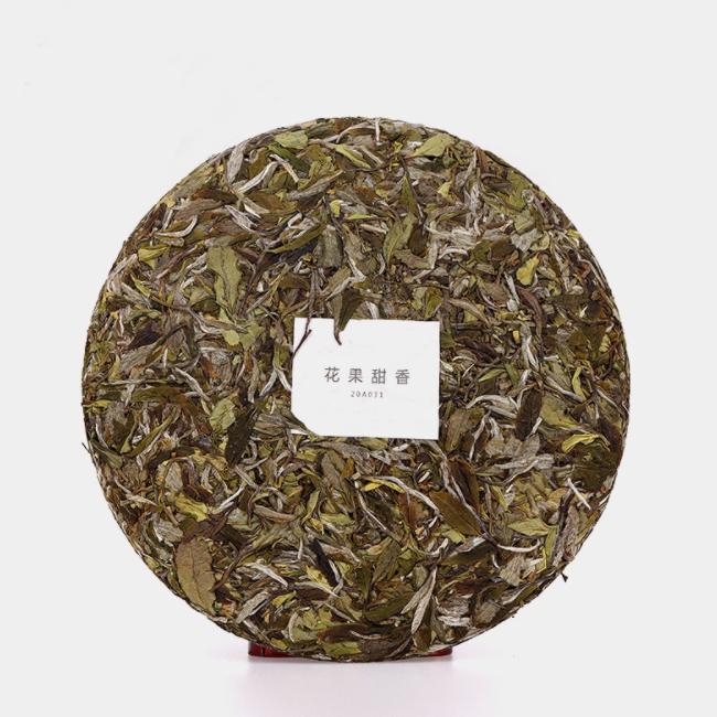 Factory supply Chinese Fujian Fuding White Tea 300g Tea Cake Aged White Tea Cake Shou Mei for Wholesale - 4uTea   4uTea.com