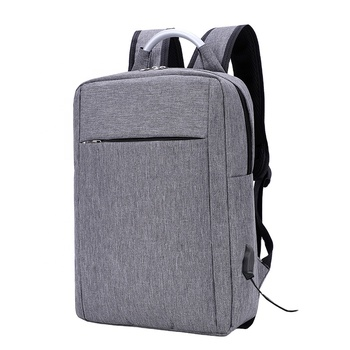 Pinghu Sinotex Promotional middle laptop bag backpack in laptop bags computer protect back pack with USB polyester waterproof