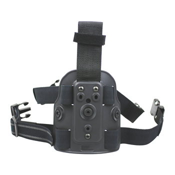 Gun&Flower Polymer Drop Leg/Thigh Platform Fits Tactical Holster and Magazine Pouch with Gear