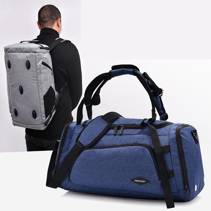 Custom Waterproof weekender Gym Outdoor Sports men woman Luxury duffel bag backpack