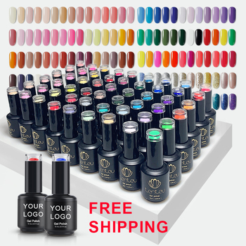 Private label gel polish set nail products salon cosmetics uv gel nail polish