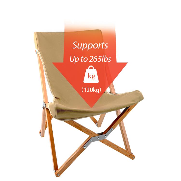 Япония рынок горячее надувательство 16A холст ткань Бук деревянная рама складной стол для пикника председательский стуль