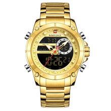 Мужские часы NAVIFORCE, модные роскошные кварцевые часы, мужские военные часы с хронографом, спортивные наручные часы, Relogio Masculino(Китай)