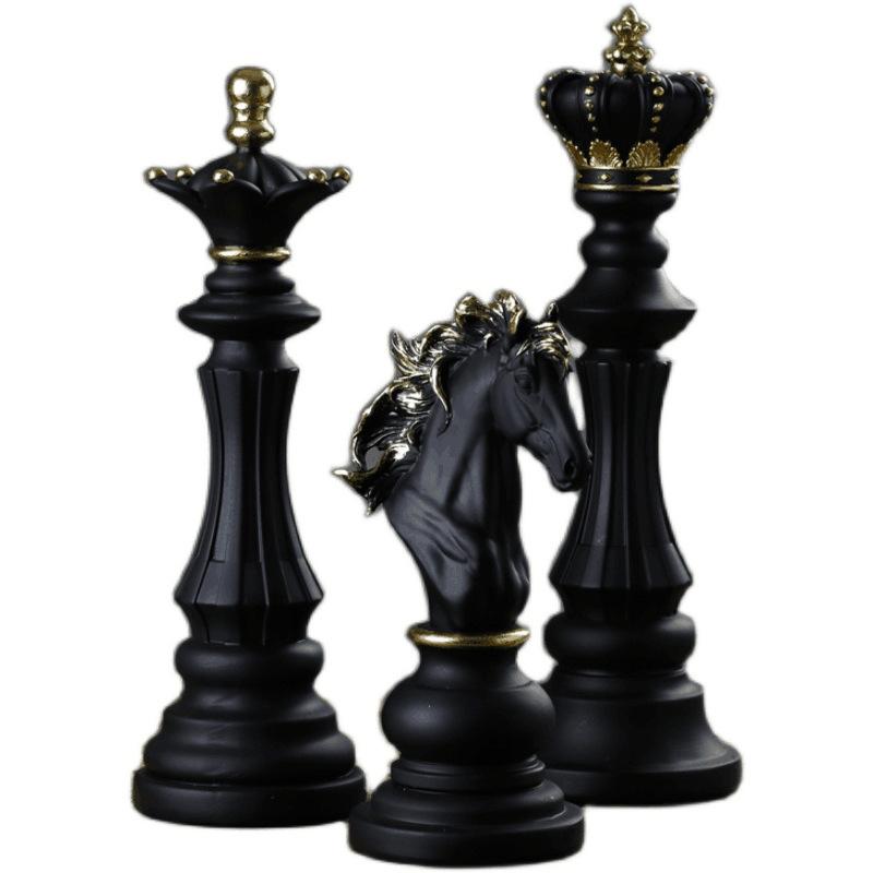 Поделки из смолы, большие шахматы, камни, украшение для дома для гостиной