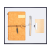 Gold-Notebook+pen+name card holder