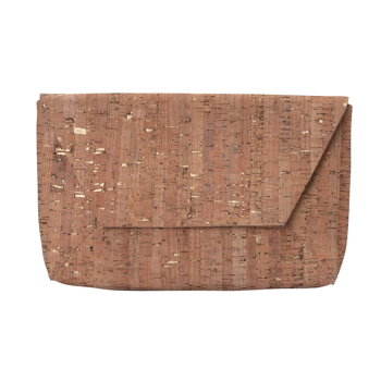 New Design Stylish Gclassic Mini Ladies Slim Cork Leather Clutch Bags Manufacturer