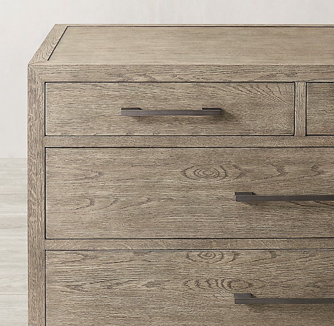 Hotel home luxury wood bedroom french contemporary 5-drawer dresser furniture