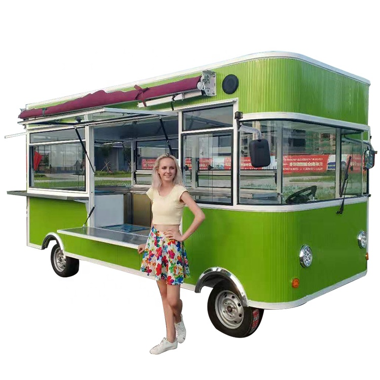 YANZHIMEI  Commercial Electric Food Truck Mobile Food Cart For Sale