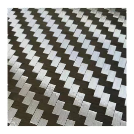 200g 12K 8mm Spread Tow Carbon Fiber Fabric Plain Weave