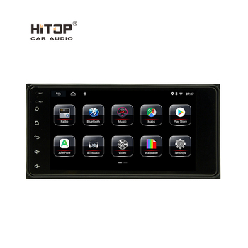 Android System Touch Screen Double Din mp3 TV Video Multimedia Universal GPS Navigation Radio Car Stereo Audio DVD CD Player