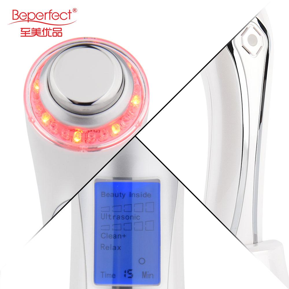 BEPERFECT портативный ультразвук 3 МГц против старения уход за лицом и персональный уход за кожей оборудование для салона ультразвуковой уход за кожей
