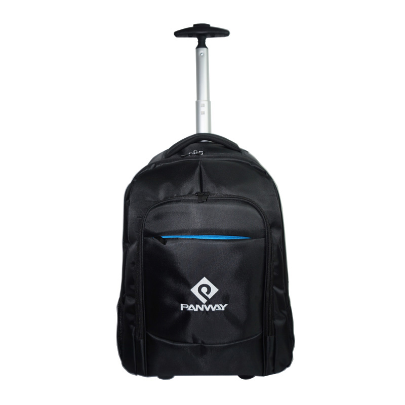 Bags luggage Business Large Capacity Durable outdoor travel Draw Bar Trolley Laptop Bag With 2 Wheels trolley backpack