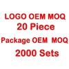 Color personalizado MOQ 1000
