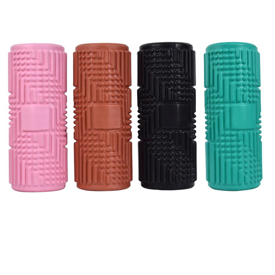 Массажный ролик из пены для облегчения боли в спине, оборудование для тренажерного зала, ролик из силиконовой пены для облегчения мышц, Вибрационное Оборудование для тренажерного зала, фитнес