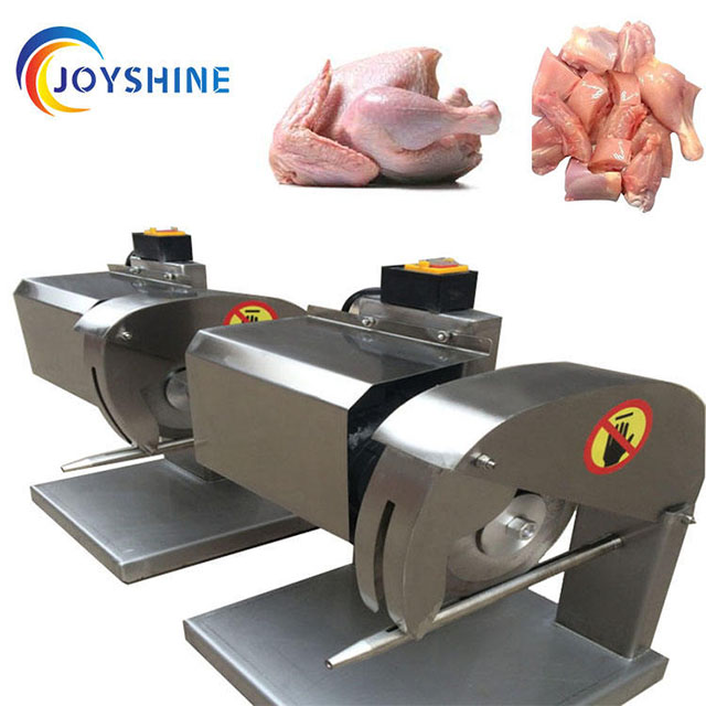 Poultry slaughtering equipment poultry cutter duck goose chicken cutting machine