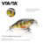 VTAVTA Wobblers Mini Topwater Crankbait 40mm 4g Artificial Japan Hard Bait Pesca Floating Fishing Lures bass Pesca