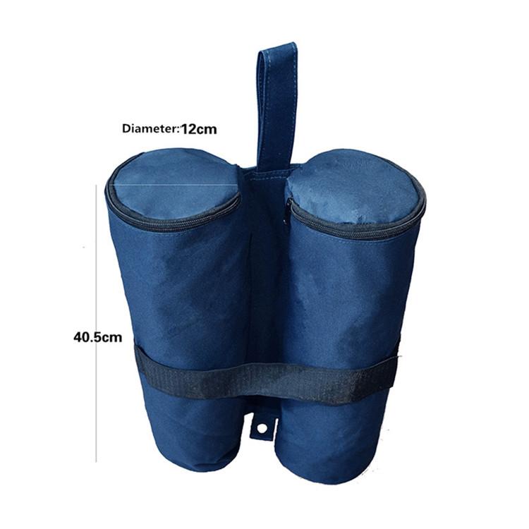Leg weight sandbag around the world for canopy tents