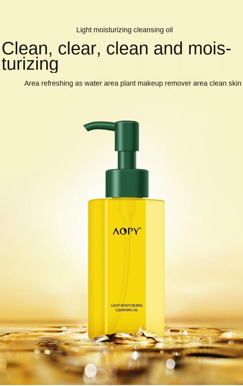 Wholesale OEM Facial Gentle  Face Cleaser Light Moisturizing  Sensitive Cleanser Oil