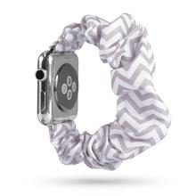 Эластичный ремешок для часов apple Watch 5 4 ремешок 44 мм 40 мм correa apple watch 42 мм 38 мм iwatch ремешок женский ремень pulseira ремешок для часов 3(China)