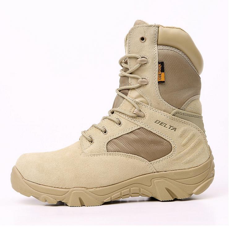 Другая полиция и военные принадлежности замшевые кожаные боевые ботинки