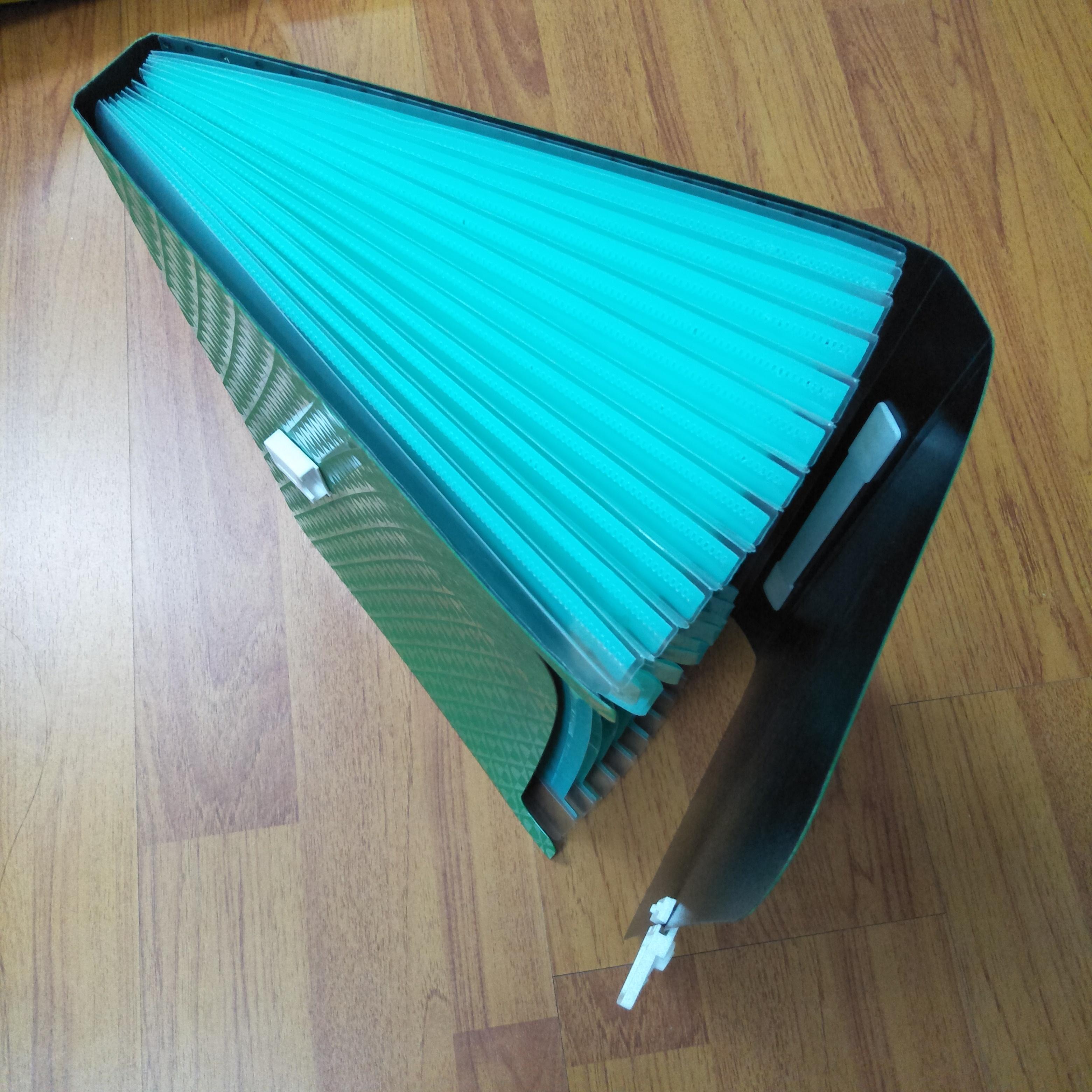 Manu Facturers Supply Color Plastic Office Multi -Page Folder A4 Storage Folder