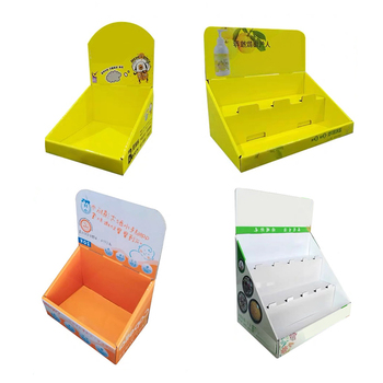 Cardboard Small Template Pop Up Display Boxes,Cardboard Carton Paper Retail Counter Top Display Box