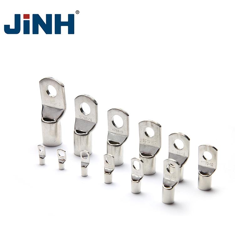 Джинх медь батарея кабельный наконечник разъема SC16-8 16mm2 отверстие 8 мм Электрический разъем для аккумулятора