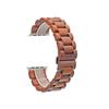 Наручные часы из красного сандалового дерева