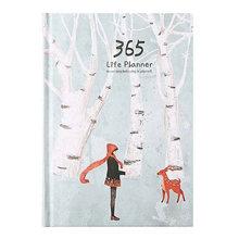Канцелярский блокнот 365, еженедельный ежемесячный Ежедневник A5, дневник s, журналы, школьные принадлежности 13,5*18,2 см(Китай)