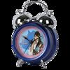 Noir design moderne horloge pour la promotion