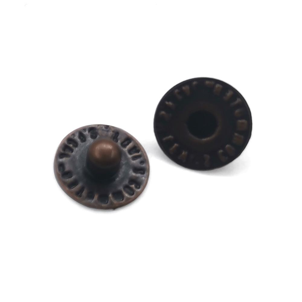 Fashion Metal Button Custom Design Jean Rivet Button Clothes Button