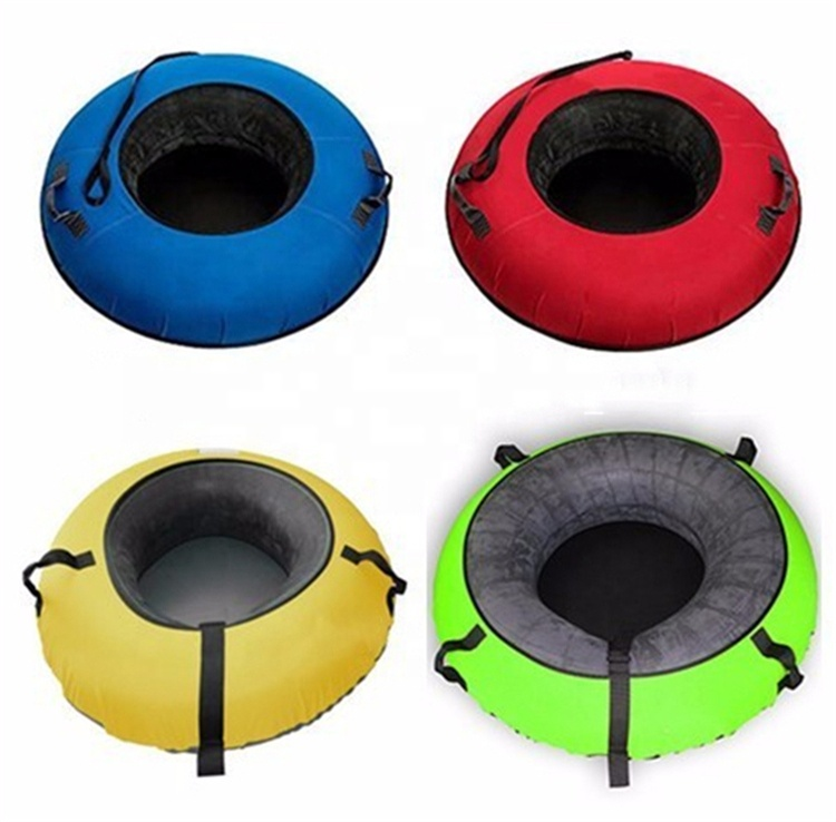 Winter Sport Inflatable Towable Snow Sled Tube Inflatable Ski Tube For Sale