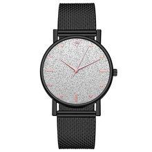 Роскошные женские часы модные кварцевые часы из нержавеющей стали с циферблатом женские часы Reloj Mujer Montre Femme наручные часы Новинка(Китай)