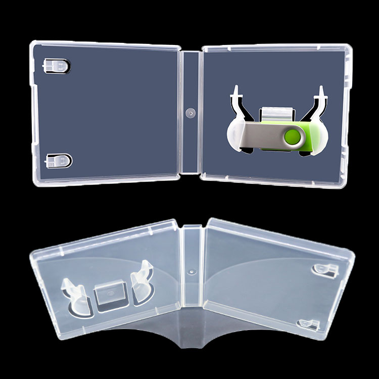 Small USB Drives Packaging Container Clear Entrapment USB Flash DVD Case USB Card Pen Holder Clock - USBSKY | USBSKY.NET
