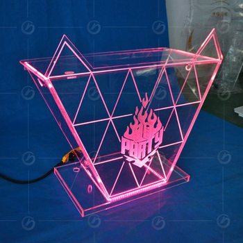 TOP Light Stars HD Led Display Sign Panel Pantalla Booth DJ
