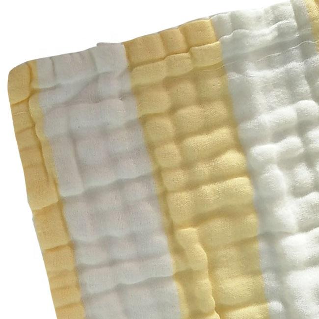 100% organic Cotton 6 Layer muslin face cloth 30cm*30cm
