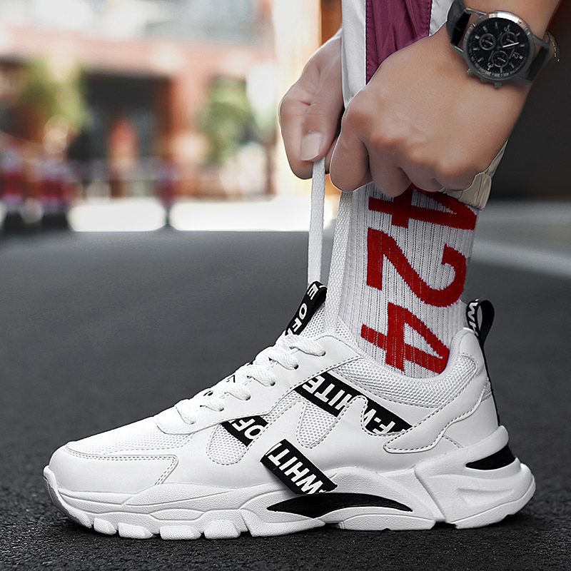 Men's Casual Shoes Sneakers Men Masculino Adult Autumn Breathable Fashion Sneakers women Trend Zapatillas Hombre Flat New