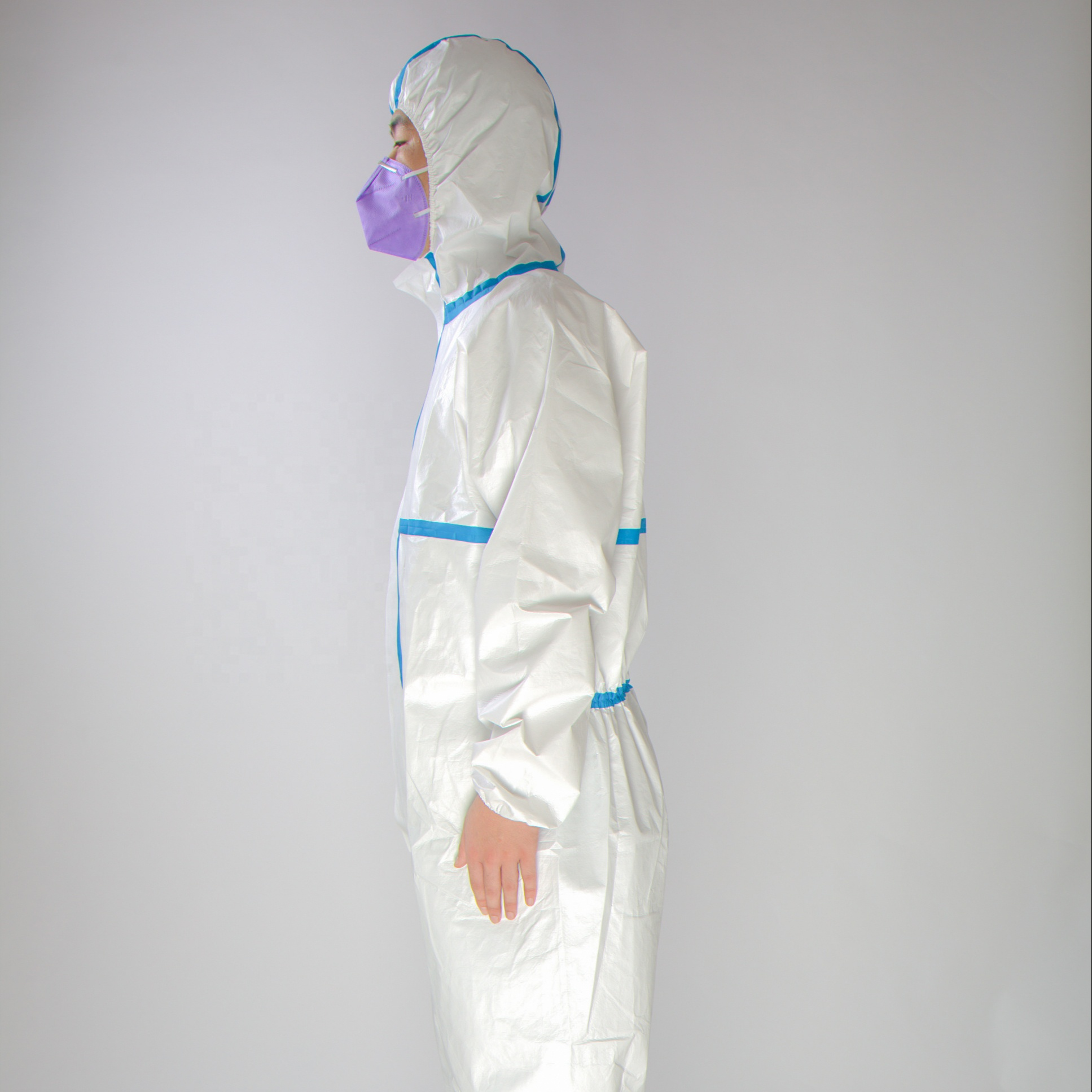 EN14126 Easy To Wear Disposable Medical Protective Clothing Full Body Protection Labcoat Coverall Working Overalls Men's Suits - KingCare | KingCare.net