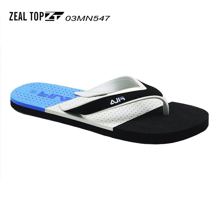 Customized Logo And Size Comfortable Beach slippers wholesale Hot Sales Men PVC strap Casual Comfort EVA Flip Flop Sandals