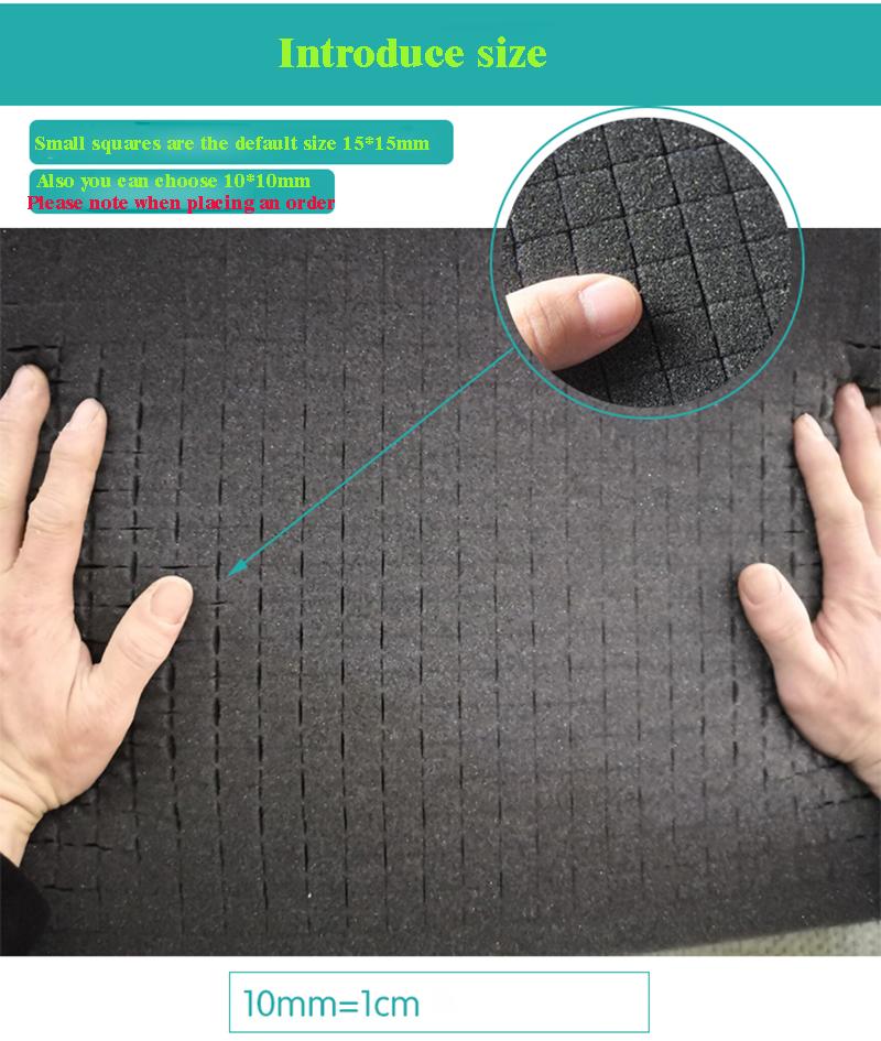 Удобный для резки материал мягкая губка с кубиками 10*10 мм
