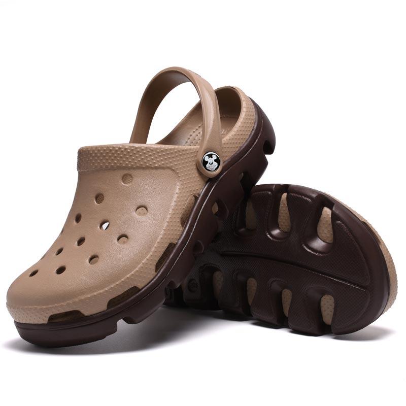 Small MOQ Big Size Custom EVA Anti-Slip Unisex Clogs Shoes Classic Garden EVA Clogs
