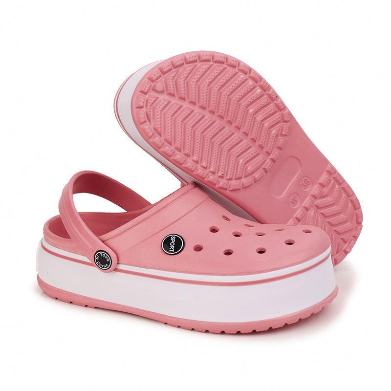 Летние женские сандалии с мягкой подошвой из ЭВА; Пляжные тапочки для дома