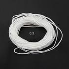 String Ear Rope Different Sizes Polyester Spandex Elastic String Disposable Medical Ear Rope
