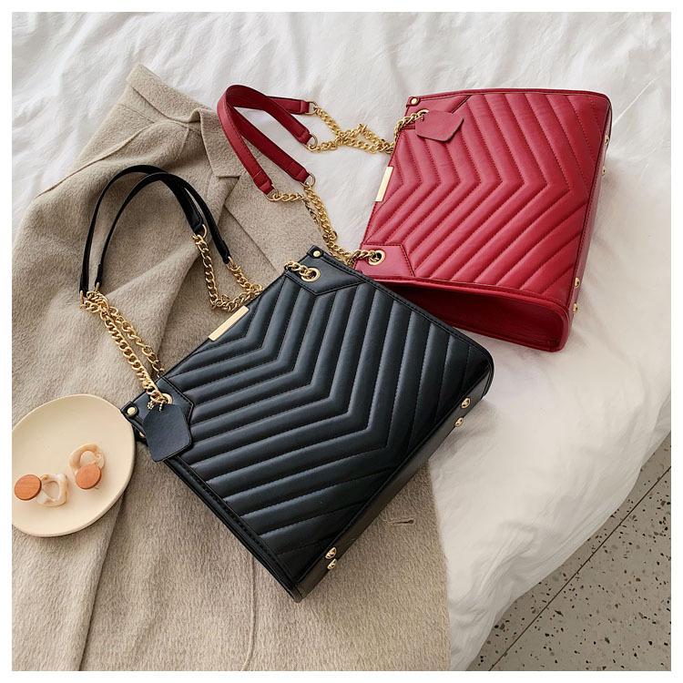 TOP-handle boy school woman handbag black leather tote bag