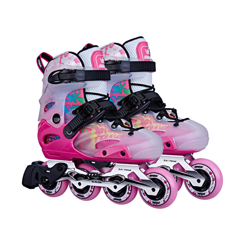 Городские беговые регулируемые детские кроссовки для катания на коньках для мальчиков и девочек