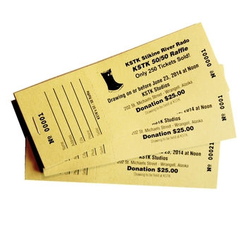 Professional painting custom raffle event ticket printing for sports and exhibition