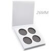 4 pans palette-black , white