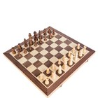 luxury custom magnetic wooden chess board games sets wholesale modern antique folding chess board tray pieces storage box