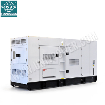 30kw power soundproof electric diesel generator